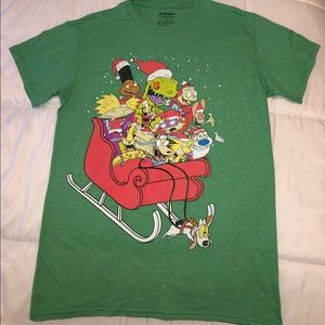 Nickelodeon 90s Cartoon Characters Graphic Tee